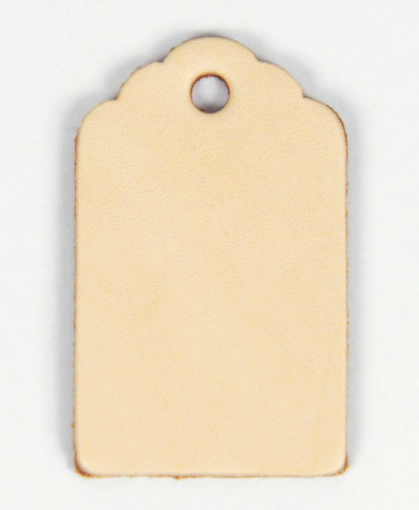Leather Tag (Luggage Tag B) - LC Tooling Leather Standard