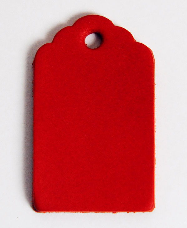 Leather Tag (Luggage Tag B) - Various Color Leather