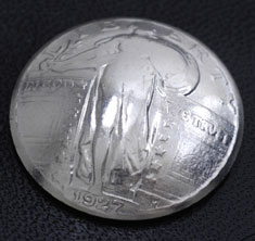 Old Standing Liberty Quarter <Loop Back>