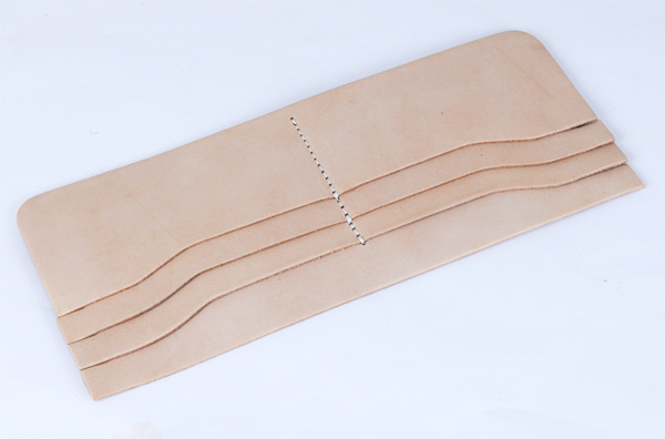 LC Long Wallet Semi Assembled Card Pockets - Tooling Leather Himeji