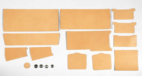 LC Billfold Kit <Outside Purse> -  Hermann Oak Tooling Leather