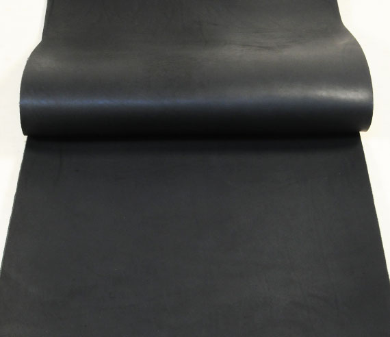 Leather cut in 60cm width, LC Tooling Leather Standard <Black>(65 sq dm)
