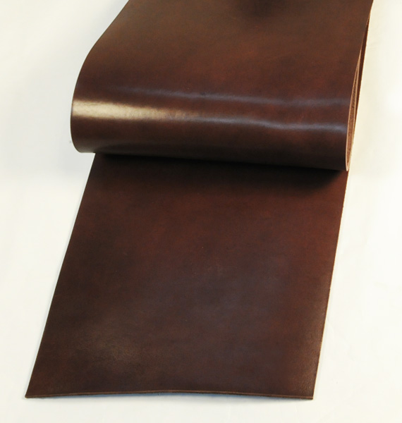 Leather cut in 30cm width, LC Leather Glazed Standard <Dark Brown>(24 sq dm)